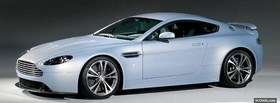 free side view aston martin car facebook cover