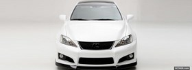 free white ventross lexus isf facebook cover
