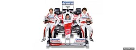 racecar drivers toyota facebook cover