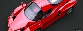 ferrari enzo top view facebook cover
