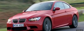 new bmw m3 red facebook cover