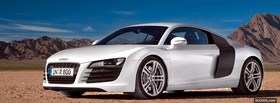 audi r8 and mountains facebook cover
