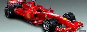 ferrari f1 2007 facebook cover