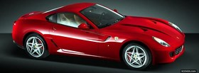 red ferrari 599 gtb fiorano facebook cover