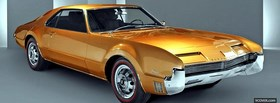 1966 oldsmobile toronado car facebook cover