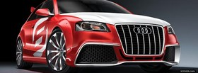 audi a3 concept car facebook cover