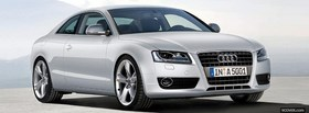 free front audi a5 car facebook cover