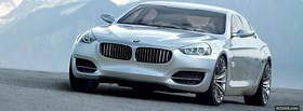 concept bmw cs car facebook cover