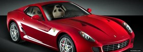 ferrari 599 gtb fiorano car facebook cover