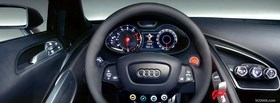 inside audi car facebook cover
