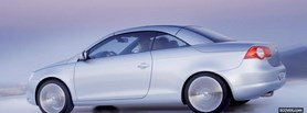 free volkswagen eos side view facebook cover