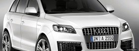 white audi q7 facebook cover