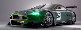 aston martin dbr9 car facebook cover