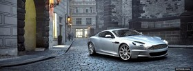 aston martin outside facebook cover