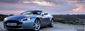 aston martin v8 vantage car facebook cover