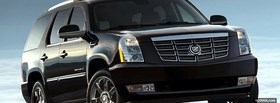 cadillac escalade car facebook cover