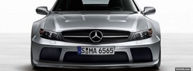 close up of mercedes c class facebook cover