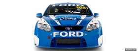 free ford v8 supercars facebook cover