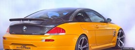 free bmw m6 ac schnitzer back facebook cover