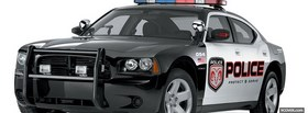 free dodge charger police car facebook cover