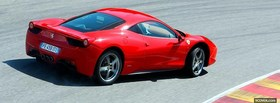 ferrari 458 italia racing facebook cover