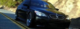 free turbo m5 bmw car facebook cover