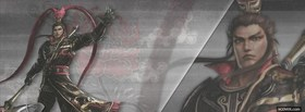 lu bu dynasty warriors 7 facebook cover