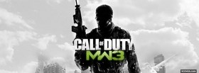 call of duty modern warfare 3 facebook cover