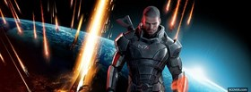 mass effect 3 view of earth facebook cover