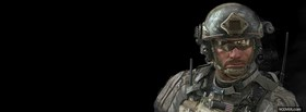 free soldier call of duty modern warfare 3 facebook cover