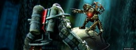 video games bioshock facebook cover