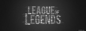 video games league of legends facebook cover