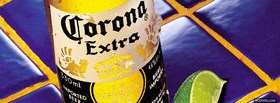 corona extra alcohol facebook cover