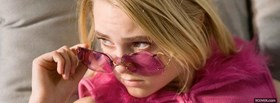 free anna sophia robb and pink glasses facebook cover