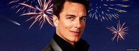 celebrity john barrowman with fireworks facebook cover