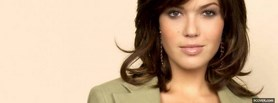 free mandy moore face close up facebook cover