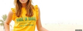 free mandy moore made in brasil shirt facebook cover