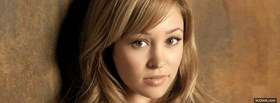 celebrity face of autumn reeser facebook cover
