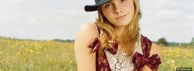 emma watson with hat facebook cover