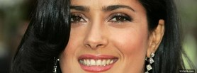 free salma hayek on the red carpet facebook cover