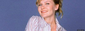 free wearing striped shirt kirsten dunst facebook cover
