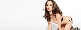 beautiful in lingerie eliza dushku facebook cover