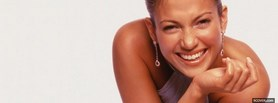 free jennifer lopez glowing smile celebrity facebook cover