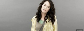 simple celebrity lena headey facebook cover