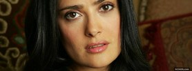 reflective salma hayek facebook cover