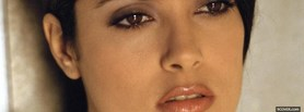 celebrity salma hayek facebook cover