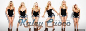 wonderful celebrity kaley cuoco facebook cover