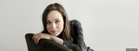 celebrity ellen page sitting facebook cover