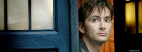 free celebrity serious david tennant facebook cover