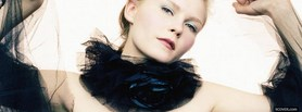 free female actress kirsten dunst facebook cover